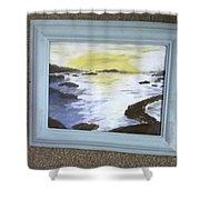 Irish Sea Shower Curtain