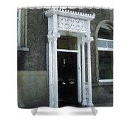Irish Solicitors Door Shower Curtain