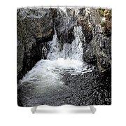 Irish Waterfall Shower Curtain