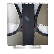 Iron And Snow Shower Curtain