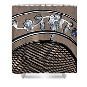 Iron Art Work Shower Curtain