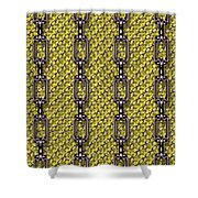 Iron Chains With Knit Seamless Texture Shower Curtain