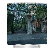 Iron Fire Entrance Shower Curtain