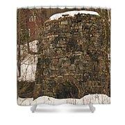 Iron Furnace Shower Curtain