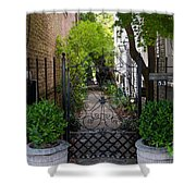 Iron Gate Alley Shower Curtain