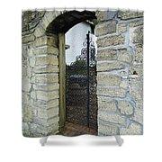 Iron Gate To The Garden Shower Curtain