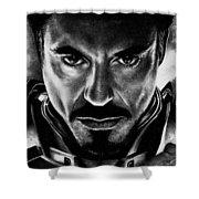 Iron Man Shower Curtain