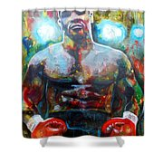 Iron Mike Shower Curtain