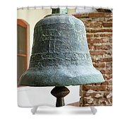 Iron Mission Bell Shower Curtain