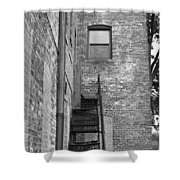 Iron Steps Shower Curtain