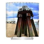 Iron Structure Shower Curtain