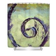 Iron Swirl Shower Curtain