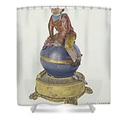 Iron Toy Bank Shower Curtain