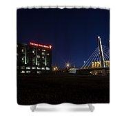 Iron Viaduct Shower Curtain