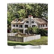 Ironmaster Mansion At Hopewell Furnace  Shower Curtain