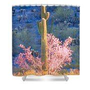 Ironwood Saguaro Dance Shower Curtain