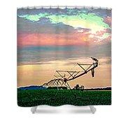 Irrigation Shower Curtain
