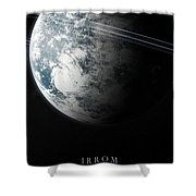Irrom Space Planets Moons Stars 100200 3840x1200 Shower Curtain