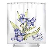Irsi Shower Curtain