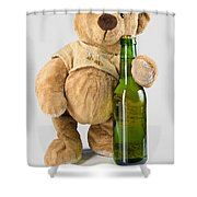 Is It Bear O'clock Yet 03 Shower Curtain