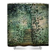 Is Liberty In Danger? Shower Curtain