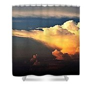 Is Something Brewing Out There Shower Curtain