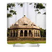 Isa Khan Tomb Burial Sites Shower Curtain