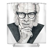 Isaac Asimov Shower Curtain