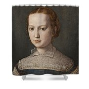 Isabella De Medici  Shower Curtain