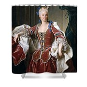 Isabella Farnese. Queen Of Spain Shower Curtain