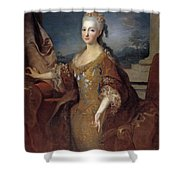Isabella Louise Of Orleans. Queen Of Spain Shower Curtain