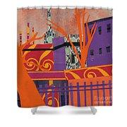 Isabella's Garden Shower Curtain