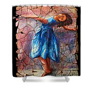 Isadora Duncan - 1 Shower Curtain