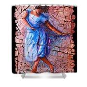 Isadora Duncan - 3 Shower Curtain