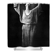 Isadora Duncan (1877-1927) Shower Curtain