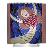 Isadora Duncan Shower Curtain