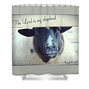 Isaiah Sixty Five Shower Curtain