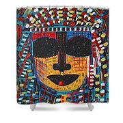 Isatoria Shower Curtain