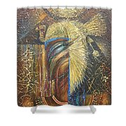 Isis. Egyptian Goddess Shower Curtain