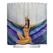 Isis Wings Shower Curtain