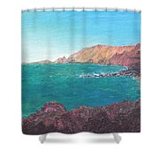 Isla D' El Hierro Shower Curtain