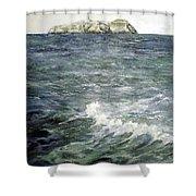 Isla De Mouro-santander Shower Curtain