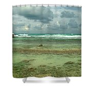 Isla De Mujeras North Shore Shower Curtain