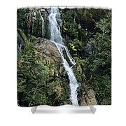 Isla Hoste Waterfall Shower Curtain
