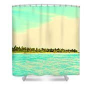 Island 7 Shower Curtain