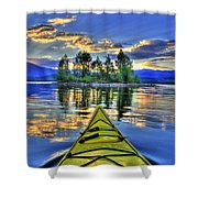 Island Adventure Shower Curtain
