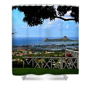 Island Bay Shower Curtain