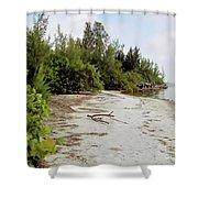 Island - Beach Shower Curtain
