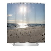 Island Beachwalkers Shower Curtain