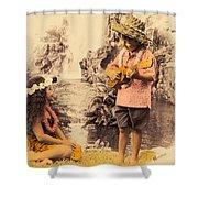 Island Children Shower Curtain